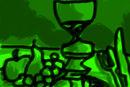 still-life--green